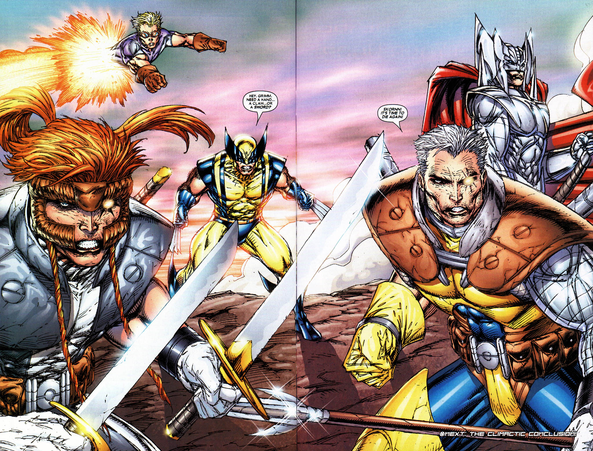 Read online X-Force (2004) comic -  Issue #5 - 35