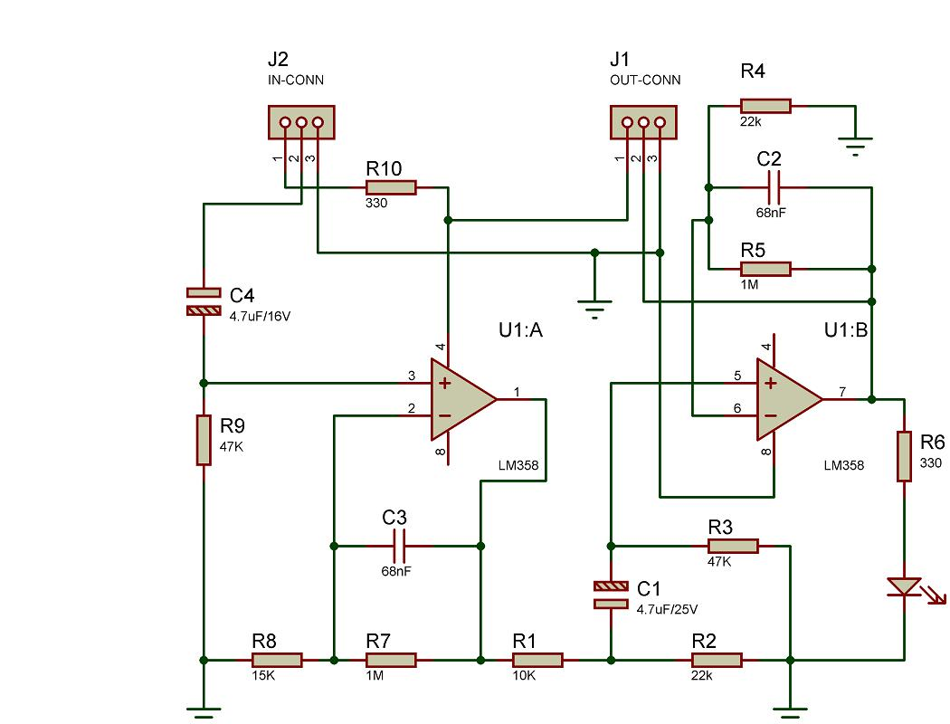 Circuit Of A Torch