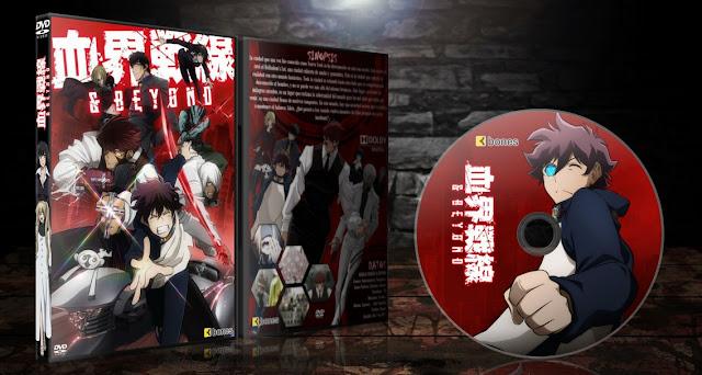 Kekkai Sensen & Beyond | Cover DVD |