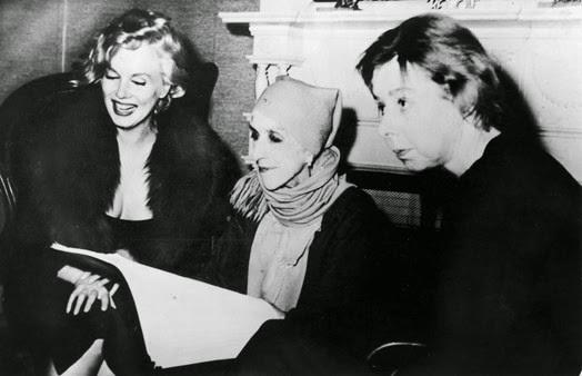 Marilyn Monroe, Karen Blixen, Carson McCullers