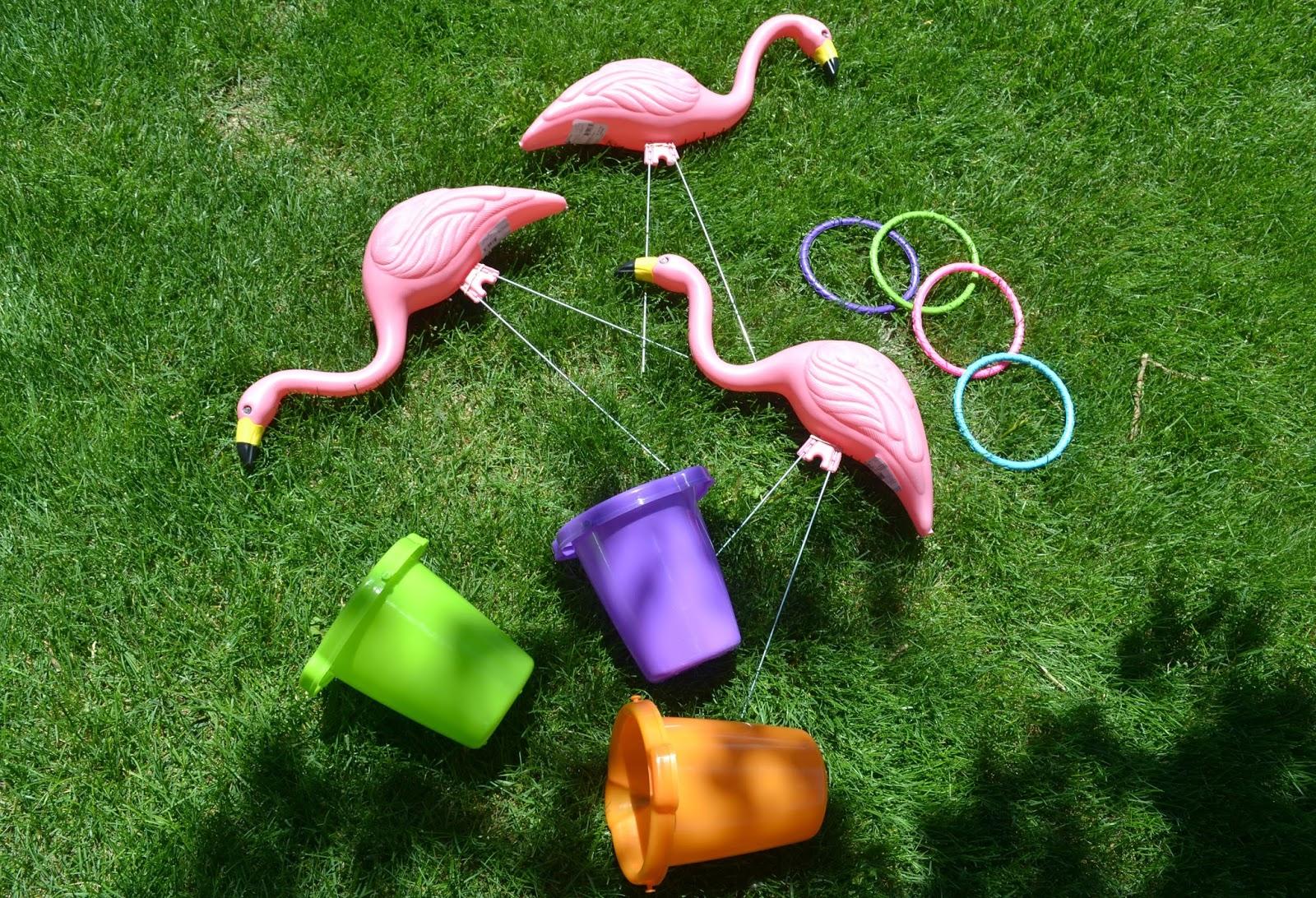 Ring toss games for kids - Flamingo Ring Toss