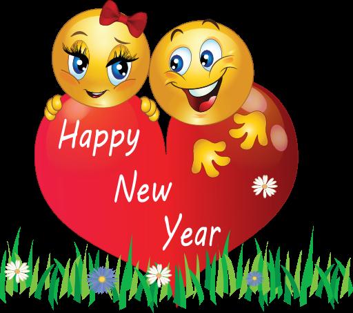 Happy New Year Emoji And Emoticons
