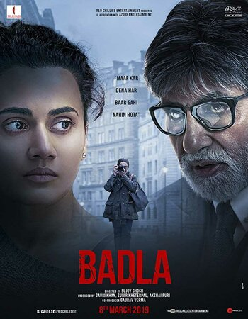 Badla (2019) Hindi 720p HDRip x264 900MB