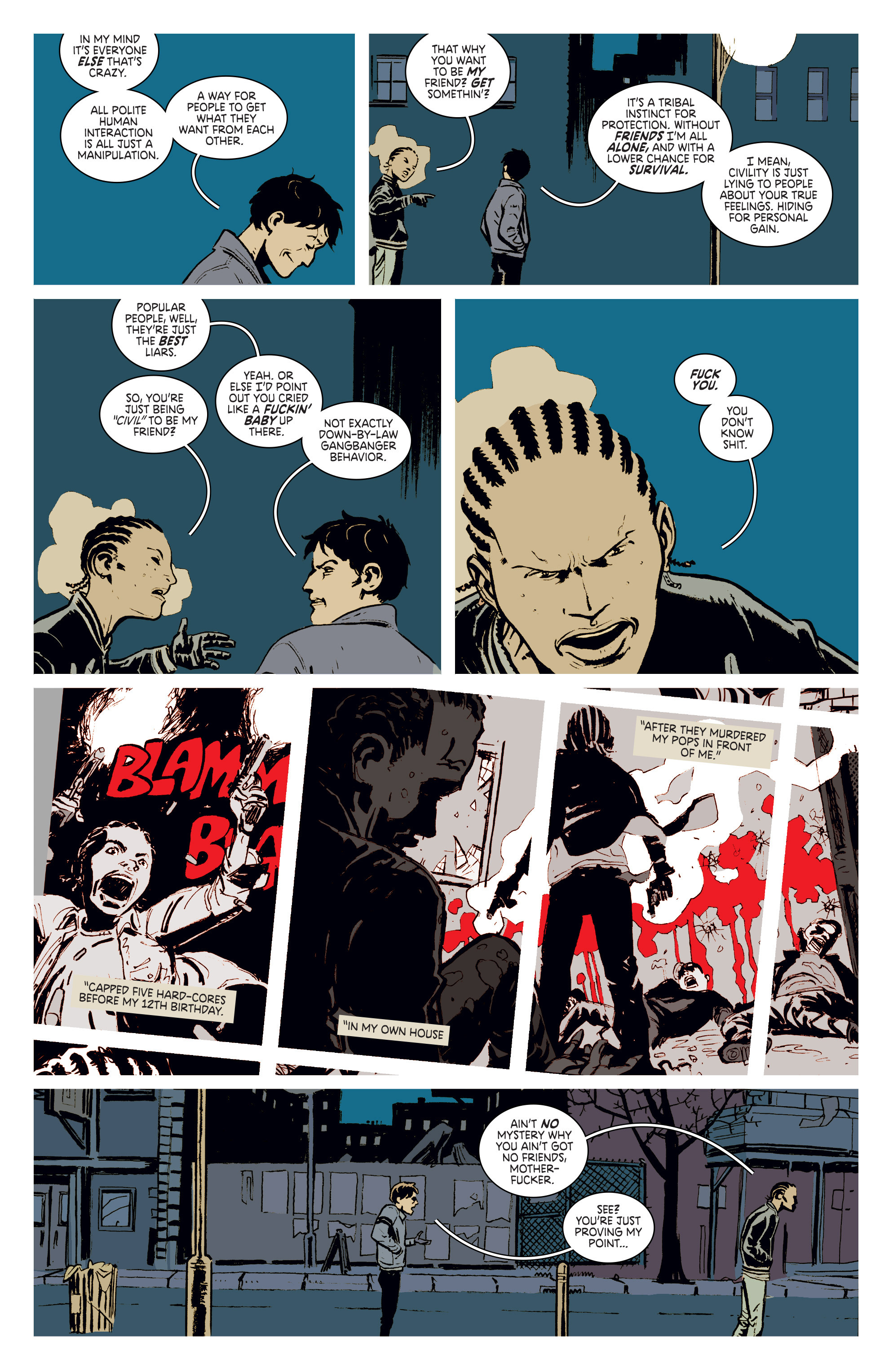 Read online Deadly Class comic -  Issue #3 - 9