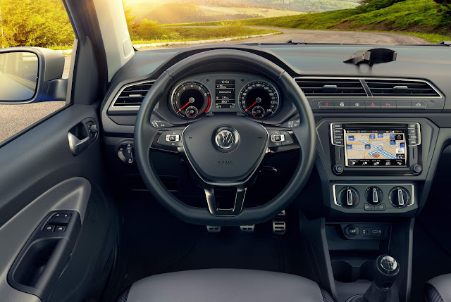 Nova VW Saveiro 2017 - interior
