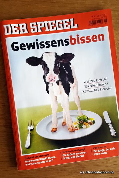 """Thema """"Fleisch"""" im Spiegel: Gewissensbissen"""