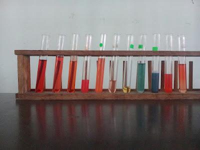 Idea P&P Sains : Warna Ion Asid Bes Guna Penunjuk Universal