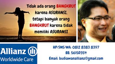 agen asuransi allianz life indonesia di medan, sumatera utara dan indonesia