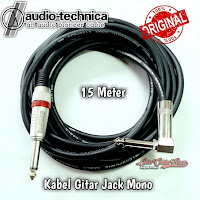 Kabel Gitar Jack Akai Mono To Akai Mono ' L ' 15 Meter