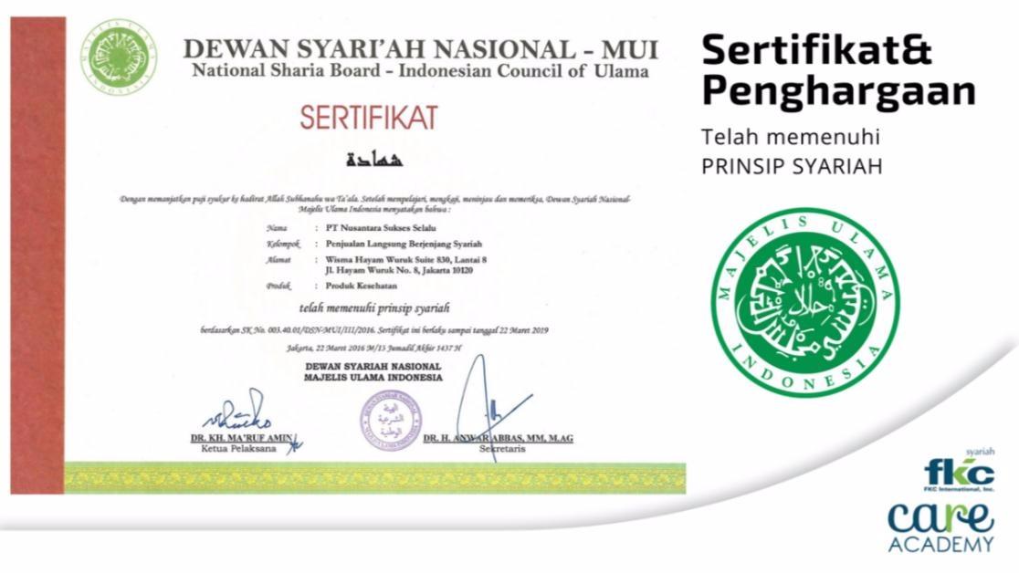 Bisnis Fkc Syariah - Legalitas Bisnis FKC