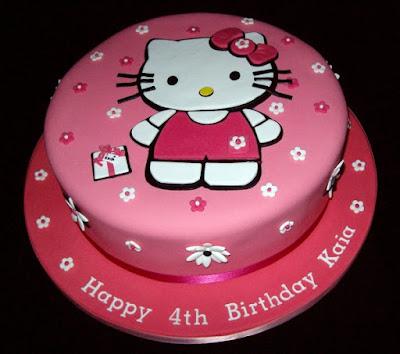 Gambar Kue Hello Kitty Ulang Tahun Hello Kitty Cake Happy Birthday