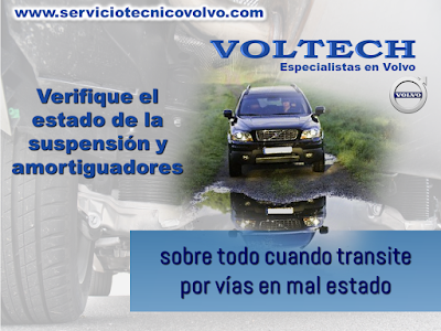 Manteimiento Suspension Volvo Automovil