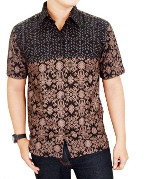 Busanamuslim 10 Contoh Model Baju Batik Pria Lengan Pendek