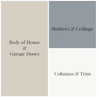 Suburban-White- Farmhouse-Paint Colors-From My Front Porch To Yours