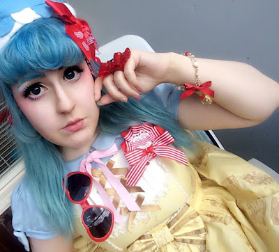 sweet lolita kawaii cute harajuku fashion outfit dress human doll