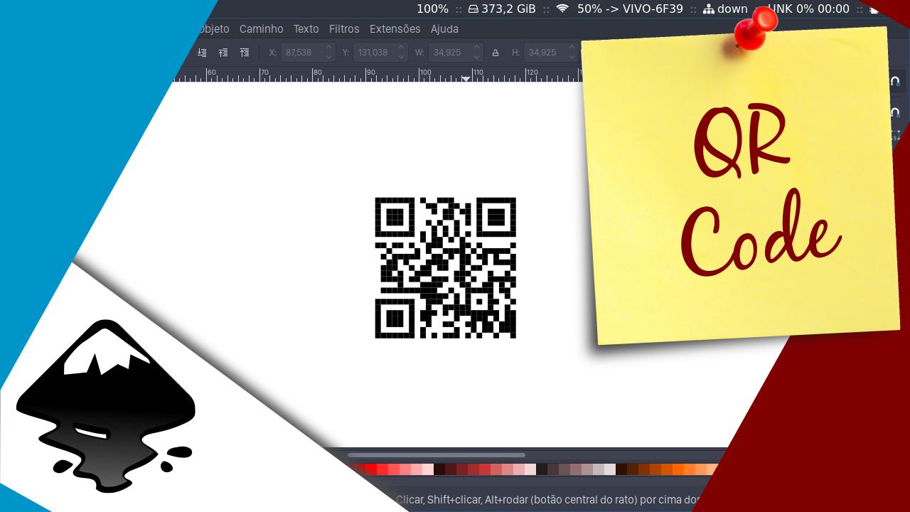 Como criar QR Codes com o Inkscape