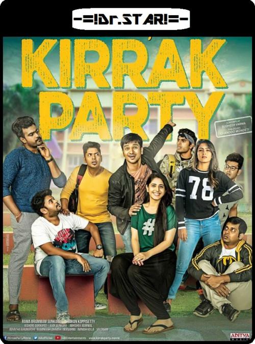Kirrak Party 2018 Dual Audio 720p UNCUT HDRip Download x264 world4ufree.fun , South indian movie Kirrak Party 2018 hindi dubbed world4ufree.fun 720p hdrip webrip dvdrip 700mb brrip bluray free download or watch online at world4ufree.fun