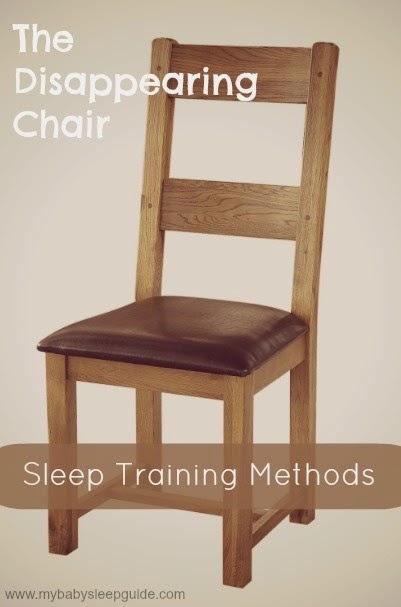 The Disappearing Chair - Sleep Training Method         ~         My Baby Sleep Guide - Your baby sleep problems solved!