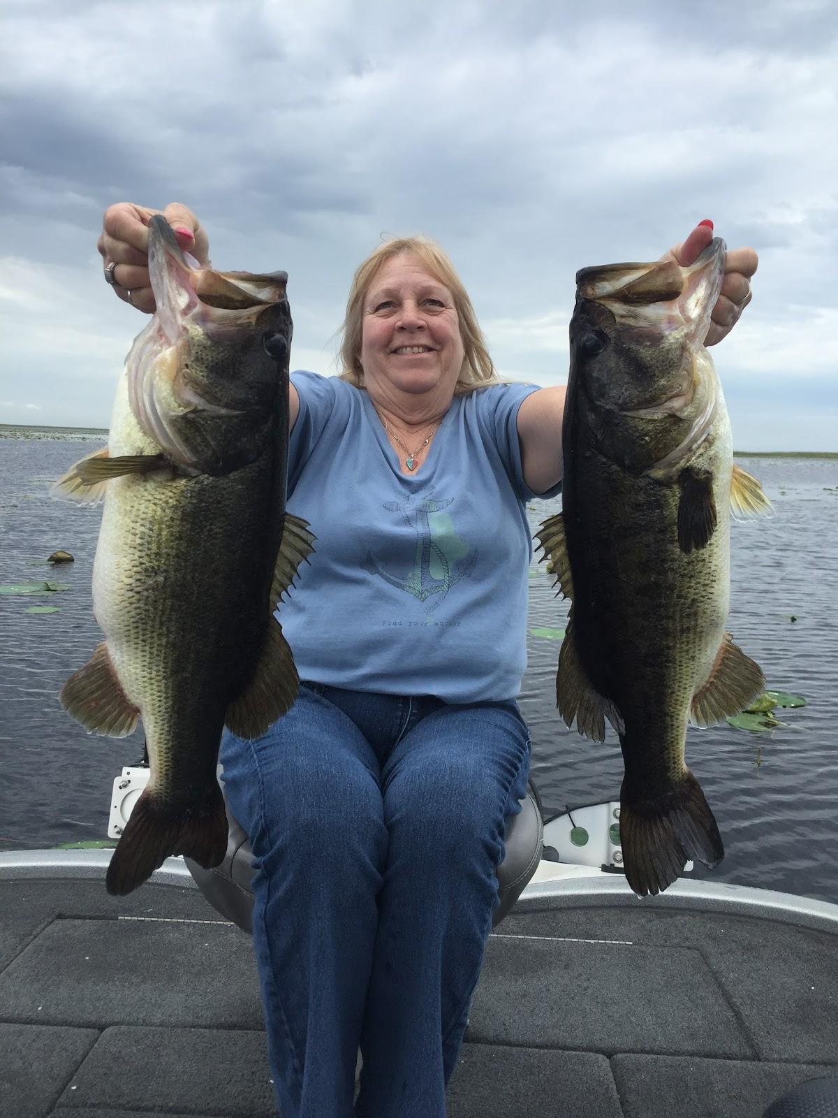 Okeechobee bass fishing report lake okeechobee bass for Bass fishing reports