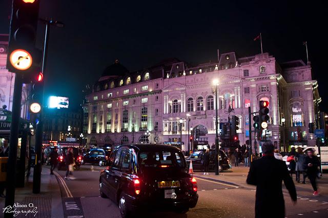citytrip Londres London Regent's street