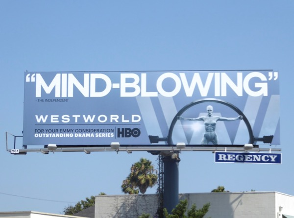 Westworld season 1 Mindblowing Emmy billboard