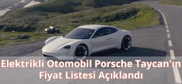 Porsche Taycan Fiyatı Ne Kadar?