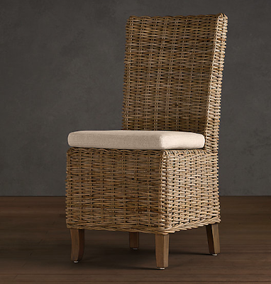 If Youu0027re Looking For Kubu Chairs For Outdoor Use, Restoration Hardware Has  A Similar All Weather Wicker Chair Named The Provence Side Chair That Is  Made To ...