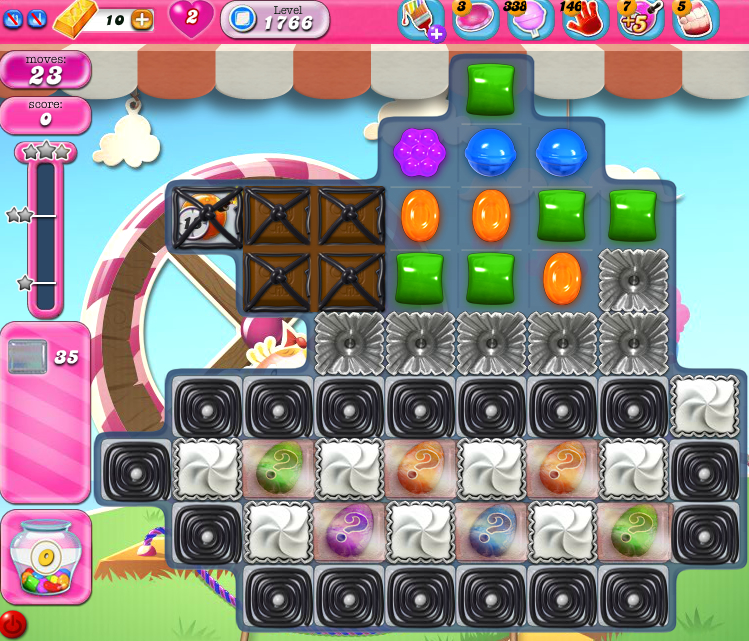 Candy Crush Saga 1766