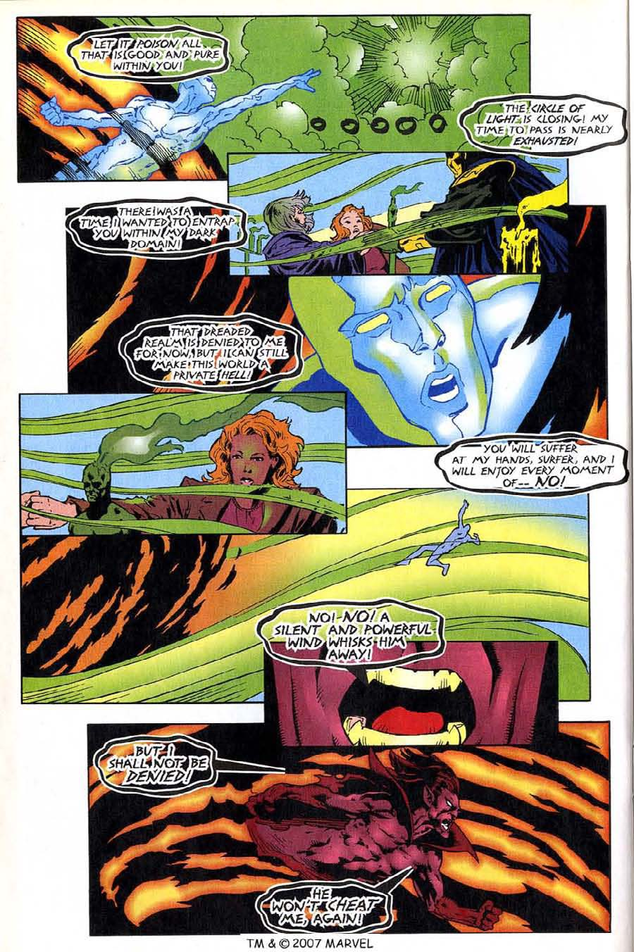 Read online Silver Surfer (1987) comic -  Issue #136 - 30