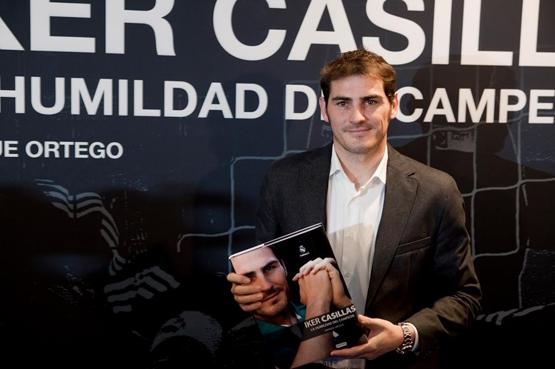 libro Iker Casillas La humildad del campeón