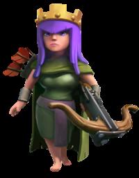 Gambar Perempuan Cantik Hot COC Archer Queen - Hero AQueen
