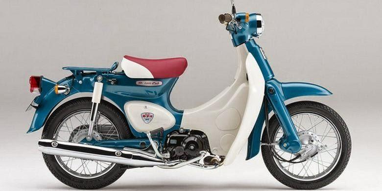 Honda rilis sepeda motor bebek  jadul