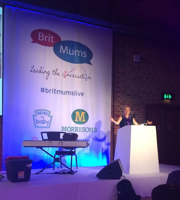 madmumof7 keynote speaker at Britmums Live