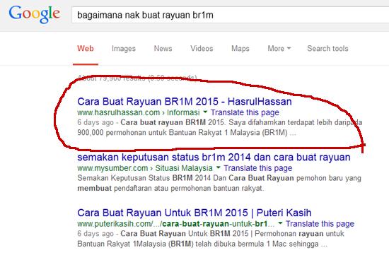 Tips Untuk Entri Mudah Muncul di Google