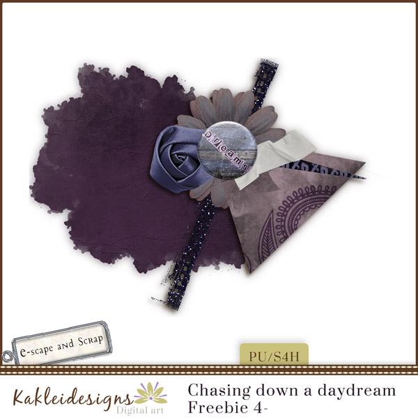 FREEbie #4 - Chasing Down a DayDream from Kakleidesigns