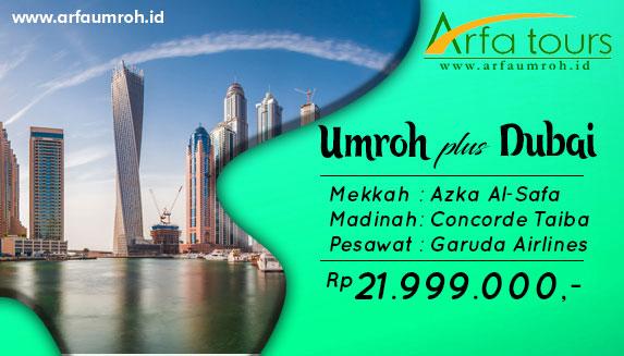 Umrah Plus Dubai Maret 2019 Jakarta Arfa Tour