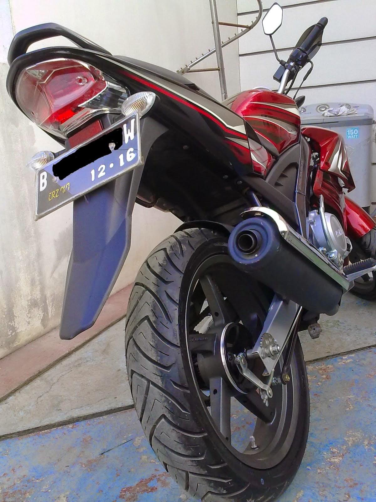 Modifikasi Vario 150 Stang Jepit Galeri Motor Vario