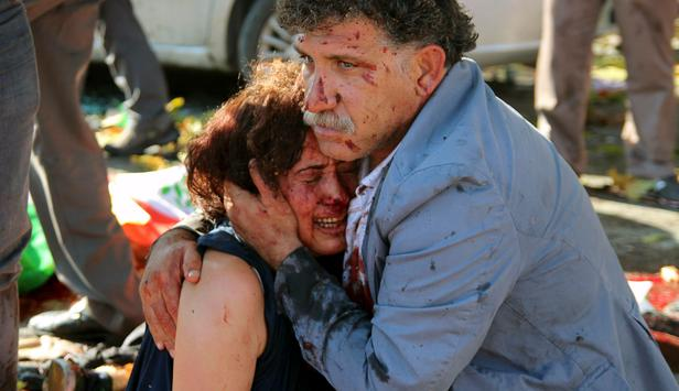 Bombing in Ankara's center; At least 97 people have been killed