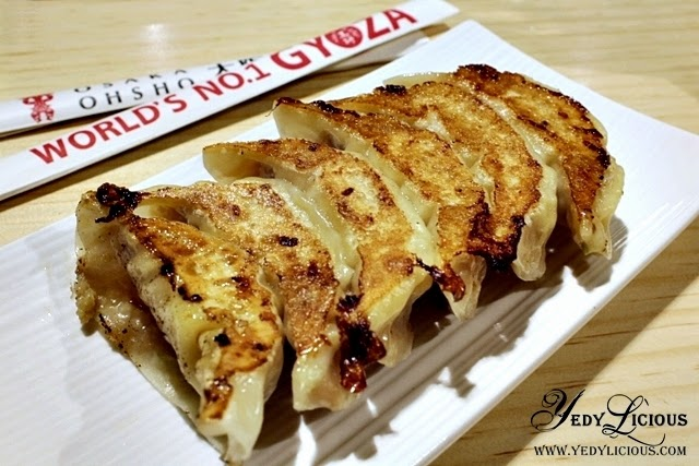 Osaka Ohsho The King of Gyoza, Now Serving The World's No.1 Gyoza in The Philippines