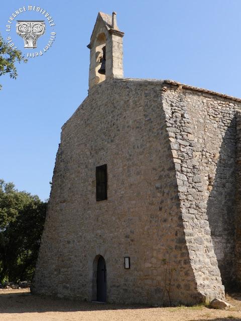 SAINT-GELY (30) - Chapelle romane Saint-Sauveur