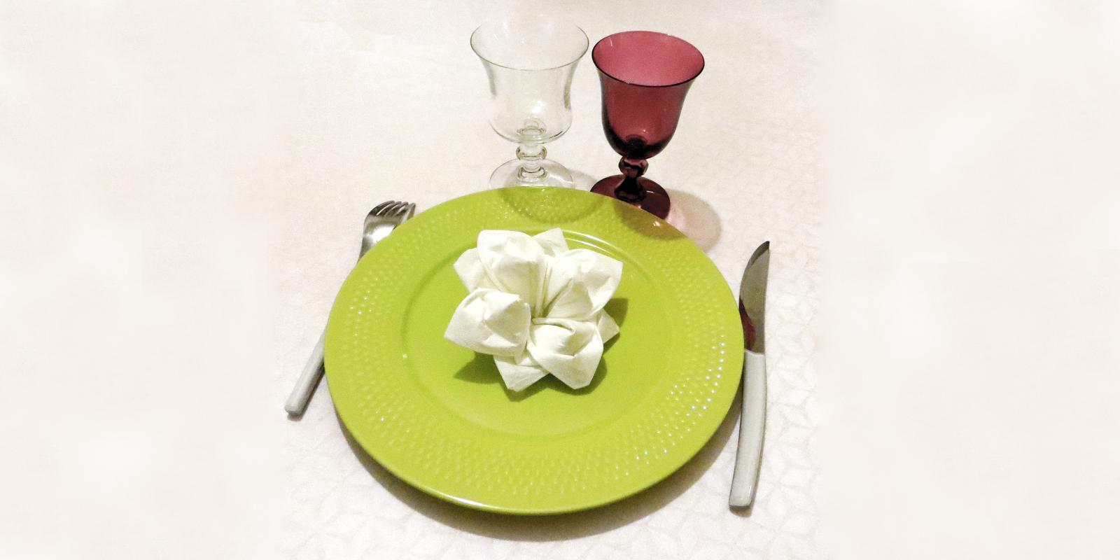 Pliage Serviette Papier Avec Couverts aline décoration: comment plier une serviette pour décorer