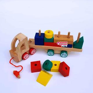 Balok Kontainer New Mainan Kayuku