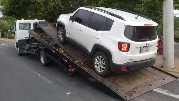 Com a ajuda do Cercamento Eletrônico, mais um carro é recuperado em Cachoeirinha