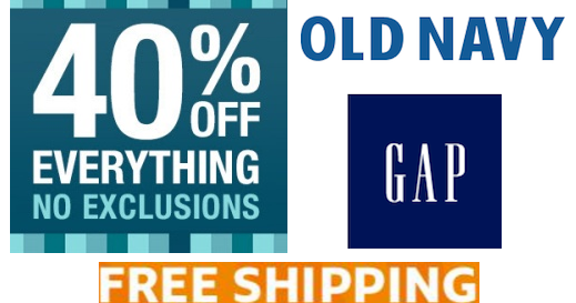 Old navy coupon code free shipping