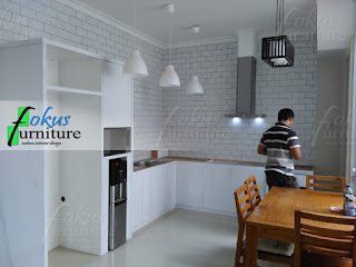 kitchen set murah per meter bintaro bsd