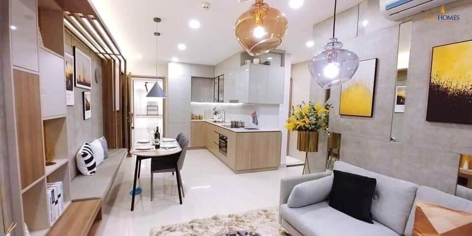 Phòng bếp căn hộ chung cư Vinhomes Sportia