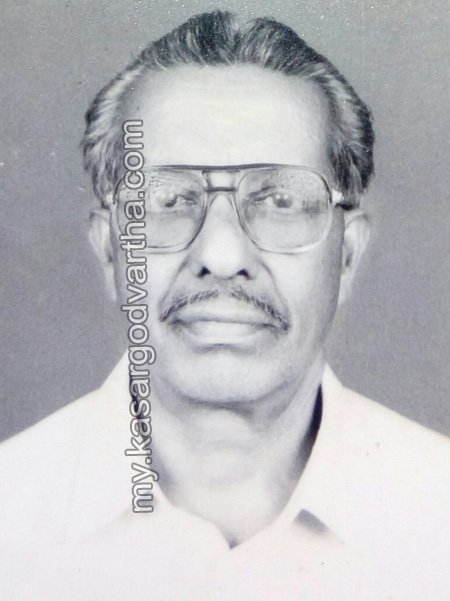 Kerala, Obituary, Kasargod, Kizhur, Death, Kizhur Gopalan passes away.