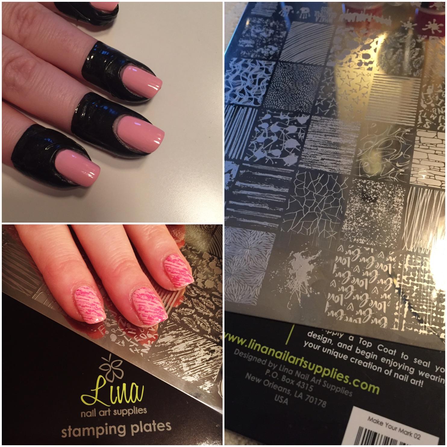 Stamping Plates Lina Nail Art Supplies Carola De Zeeuw