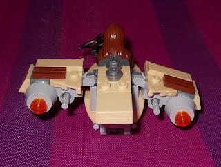 nave espacial de lego wookiee gunship star wars