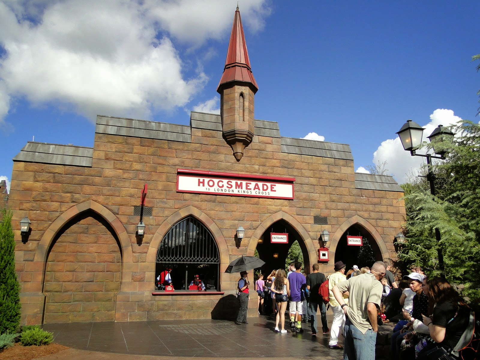 Universal Orlando Island of Adventure Expresso Hogwarts Harry Potter
